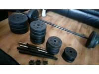 Mixture of free weights