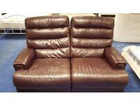 3 Piece Reclining Sofa and Armchair Set