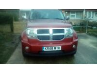 Dodge nitro 2.8 auto head turner of a car