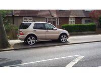 Mercedes Ml.........£ 1700 ono