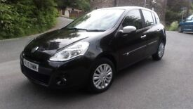 2010 renault clio 1.2 i-music tce 5 door hatchback 12 month mot low mileage