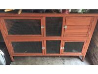 2 tier rabbit hutch to swap for single tier or sell