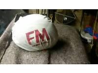 Fm motor bike helmet