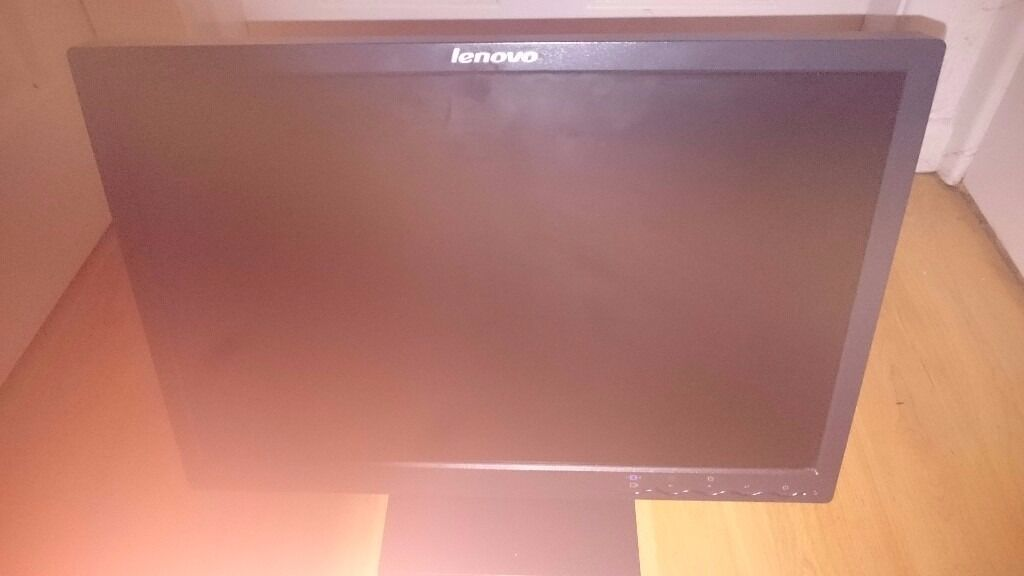 LENOVO 20 inch wide screen lcd monitorin Edge Hill, MerseysideGumtree - LENOVO 20 inch wide screen lcd monitor LENOVO 20 inch wide screen lcd monitor, in excellent condition. Free delivery if local