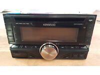 KENWOOD DPX305U DOUBLE DIN CD/USB-Receiver with iPod Direct Control