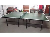 Fold Away Full Size Table Tennis Table