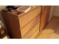Ikea Chest of four drawers - Excellent condition