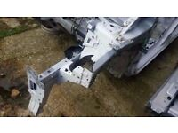 2013-2016 MK4 RENAULT CLIO NSF FRONT PASSENGERS SIDE OR DRIVERS SIDE INNER WING CHASSIS LEG CUT OUT