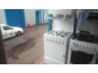 LEISURE LAUREAT 2 GAS COOKER IN WHITE