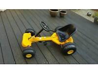 Kids pedal go-kart