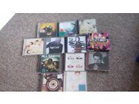 Selection of Single & Album CD's