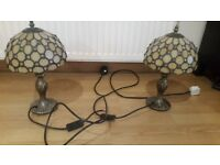 Gorgeous tiffany style lamps perfect working order