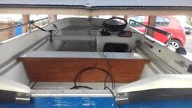 Orkney dory for sale good condition ready to go good trailor£800 ono