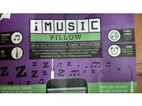 imusic pillow. Listen to your music player as you fall asleep. This item is brand new unused.