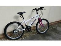 Huffy 20 inch girls bike. 6-speed. Age 7-10
