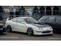 Breaking Honda Integra Type R UKDM Type R JDM Civic Spoon Sports Skunk2 Recaro Tegiwa