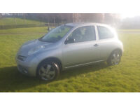 Nissan Micra 1.2s manual 3 door hatch ideal first car alloys cheap insurance tax etc