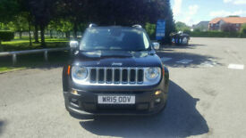 JEEP Renegade Limited Black 1.6l Diesel