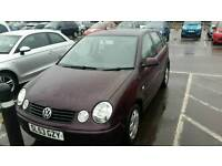 VOLKSWAGEN POLO 1.4 WITH A FULL YEARS M.O.T