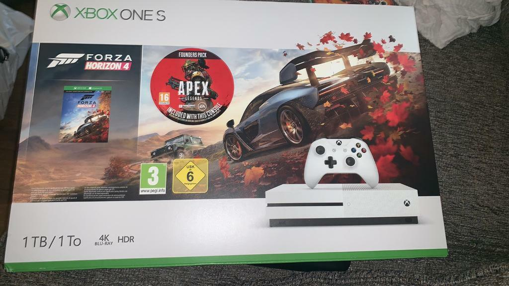 Xbox one s with forza 4 and red dead redemption 2 | in Coventry, West  Midlands | Gumtree