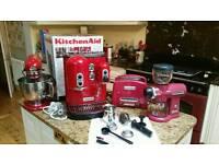 Kitchenaid kitchen set (red)