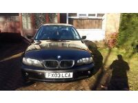 BMW 320d full mot automatic read ad PX WELCOME