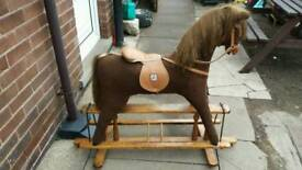 Mamma and pappa rocking horse