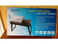 iMountTEX Multi-functional Laptop table . Brand New still in box. Lightweight /Portable