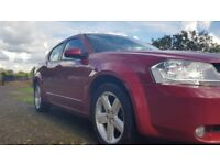 Dodge Avenger SXT 2008 77,200 miles one owner from dealer, beautiful rare car