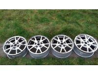 "Set of Vauxhall Insignia Alloys 16"" needs refurbishing"