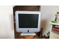 14 inch portable colour TV and Freeview HD+ recorder