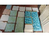 Mosaic tiles 20+ full tiles+ loads of other tiles £25 For whole Lot !!