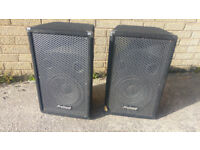 Pair of Dj ProSound 300w Each Speakers 150RMS Model PS10 version 2