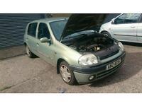 2001 Renault clio 1.2 breaking
