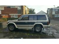 Mitsubishi pajero 2.5 exceed model