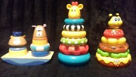 Little Tikes, Mothercare tower with rings, Chicco sailor rings
