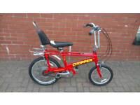 Raleigh Chopper Red