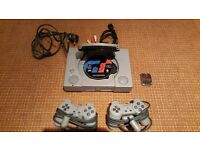 Playstation 1 with extras