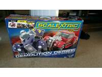 Hornby scalextric demolition derby.