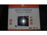 1byone Amplified TV Aerial, Freeview Indoor HDTV Antenna