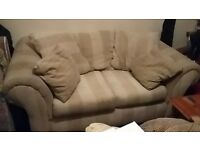 Sofa, American style, large 2-seater, free for collection
