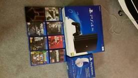 PS4 PRO w/ games etc