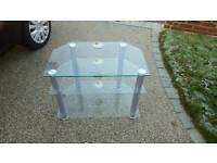Glass TV Table