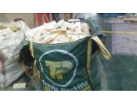 EXCELLENT FIREWOOD OFFCUTS IN BUILDERS BAGS