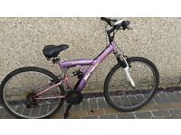 *** Girls Mountain Bike Pink/Purple ***