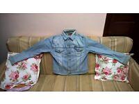 energie jeans jacket large size vintage made 1955