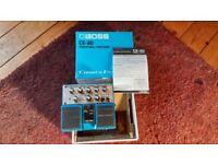 Boss CE20 chorus pedal