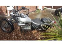 Suzuki intruder 125 cc 1999 5 gears 65 mph good bike bit of rust here and ther
