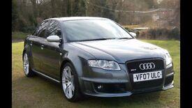 OUTSTANDING AUDI RS4 + Audi FSH