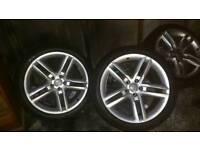 """Alloys wheels 19"""" Audi"""
